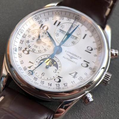 浪琴名匠系列月相计时男士腕表,浪琴手表回收价格