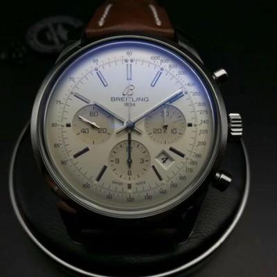 百年灵越洋系列男表 AB015112,二手百年灵手表回收