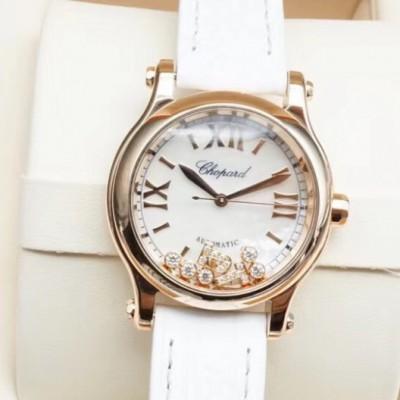 萧邦快乐钻系列女士机械腕表,型号274893