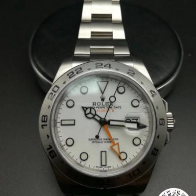 劳力士 探险家II系列 216570,广州回收劳力士手表