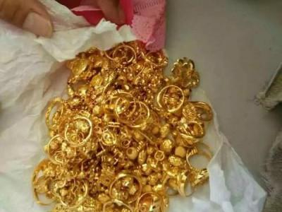 上海二手黄金首饰回收几折,上海周六福黄金回收价格